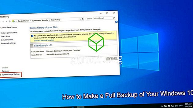 Come eseguire un backup completo di Windows 10