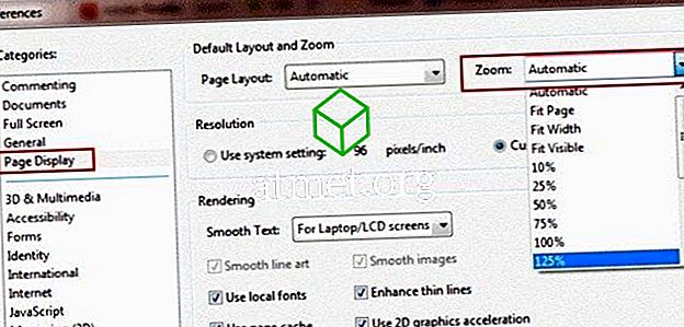 Adobe Reader: Ändra standard zoominställning
