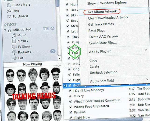 iTunes에서 노래 제목, 아티스트 및 앨범 정보가 누락 된 무료 프로그램 수정