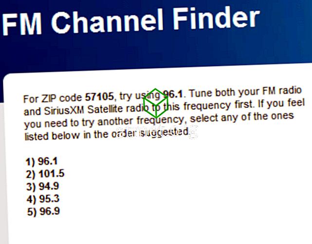 Trouver la meilleure station de radio pour transmetteur FM iPod ou iPhone