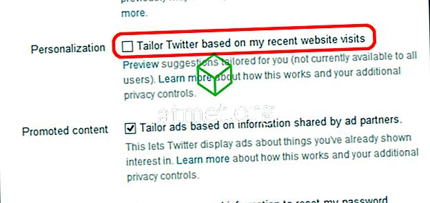 Nastavenie služby Twitter Spôsobuje chýbajúce Tweety
