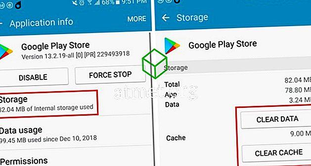 Slik løser du Google Play Stuck ved