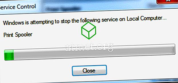 Düzeltme: Windows Yazdırma Biriktiricisi Hizmeti Başlamadı