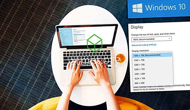 Sådan indstilles brugerdefinerede skærmopløsninger i Windows 10