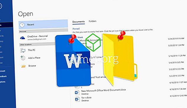 Så här stifter du en fil eller mapp till den öppna listan i Microsoft Office för att spara tid
