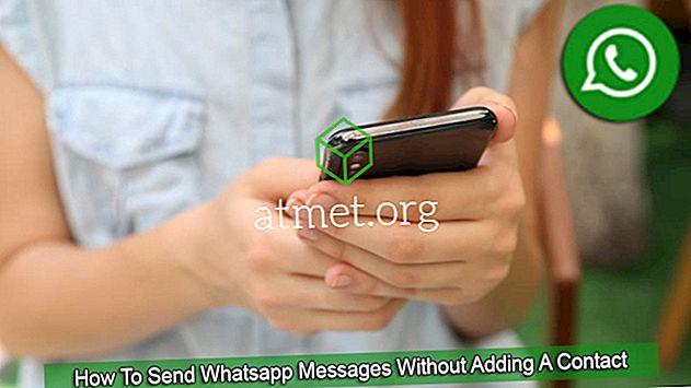 Kako poslati WhatsApp poruke bez dodavanja kontakta