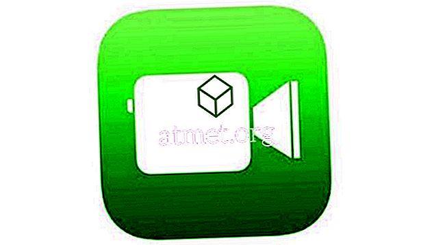 आईफोन या आईपैड से फेसटाइम आइकन दिखाई देता है