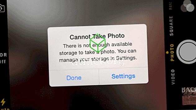 """IPhone un iPad iestatiet problēmu """"Nevar fotografēt"""""""