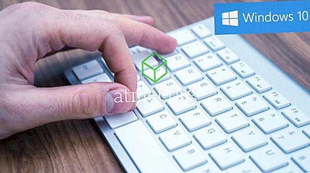 장치를보다 효율적으로 만들기위한 Windows 10 키보드 단축키