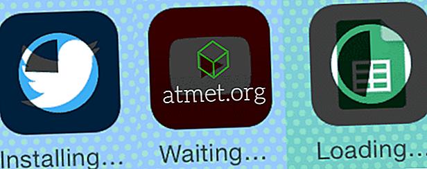 """Εφαρμογές Stuck """"Εγκατάσταση"""", """"Αναμονή"""" ή """"Φόρτωση"""" σε iPhone ή iPad"""