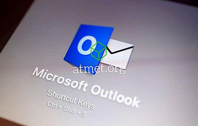 Olulised kiirklahvid Microsoft Outlookis