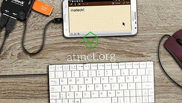 Aansluiten van toetsenbord en muis op Android