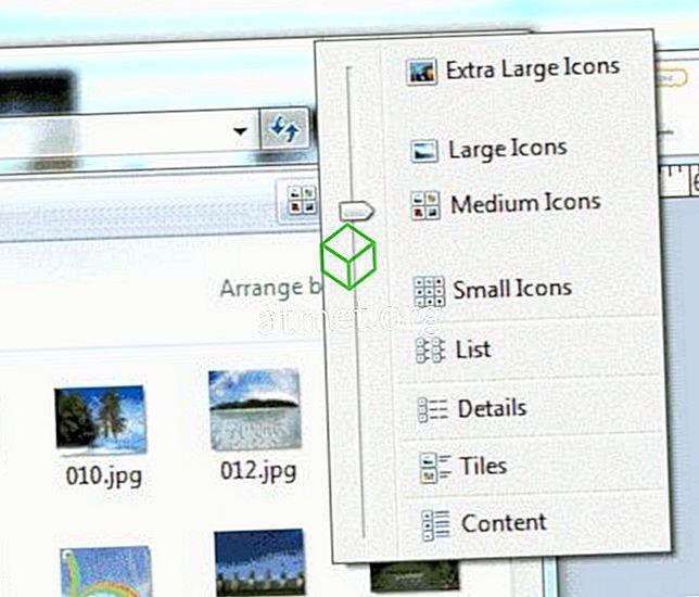 Windows 10: Promijenite veličinu minijature slike