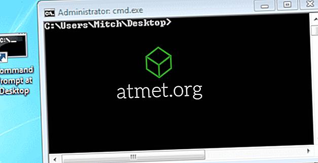 Windows: Skapa kommandotolk som öppnas för specifik mapp Plats