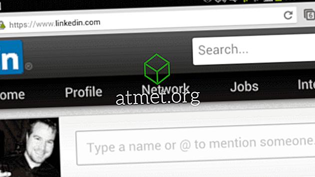 LinkedIn: Jak zobrazit plnou verzi webových stránek na Android nebo iPhone