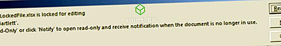 Excel: Sửa tệp tin bị khóa để chỉnh sửa / sử dụng Lỗi lỗi