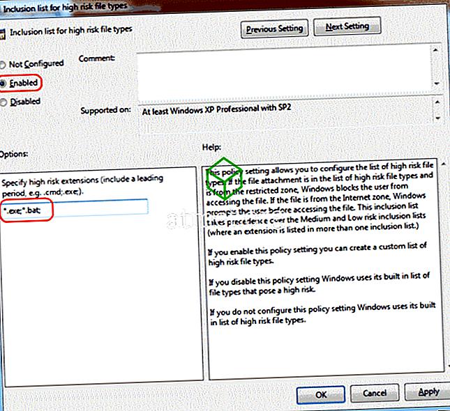 """Windows: Deshabilite los mensajes de """"El editor no pudo ser verificado"""""""