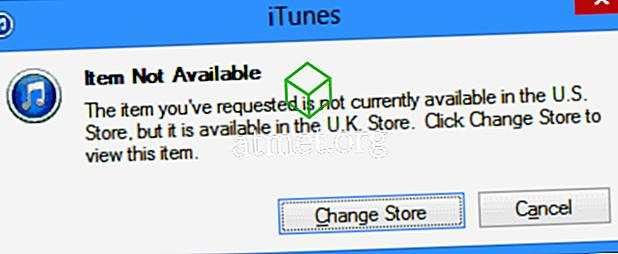 iTunes: terugschakelen naar de Amerikaanse App Store