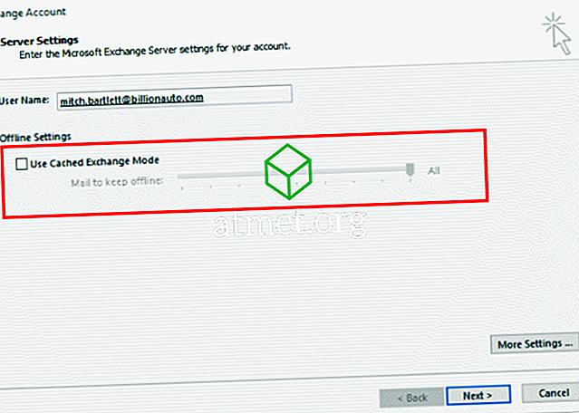 Outlook 2016: Włącz lub wyłącz tryb buforowanej wymiany
