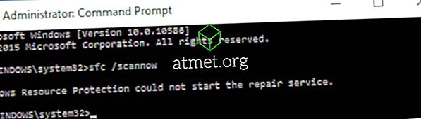 """Windows: Oprava """"Ochrana prostriedkov Windows nemohla spustiť opravu"""" Chyba"""