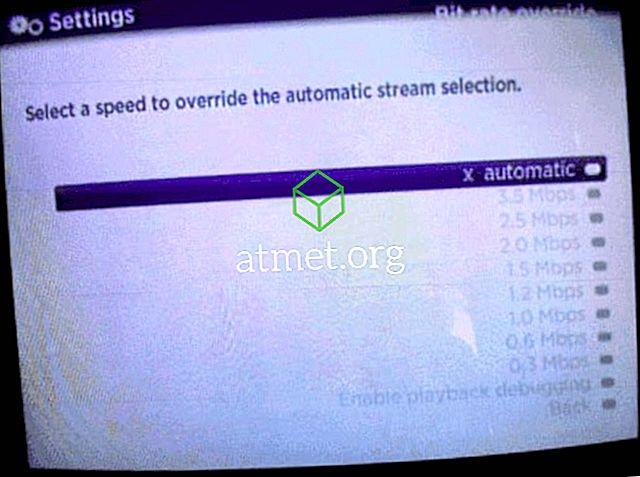 Roku: मैन्युअल रूप से कनेक्शन की गति सेट करें