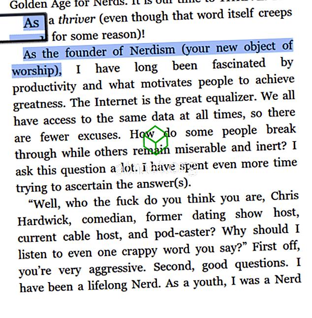 Kindle Fire: Как да добавяте бележки и маркирате текст в книга