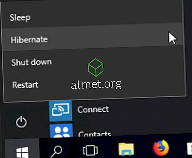 Sådan aktiveres Hibernate Shutdown Option i Windows 10